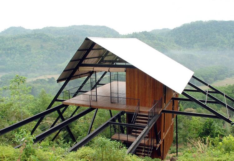 Thiết kế Bungalow tại các khu du lịch sinh thái núi rừng độc đáo - View 10