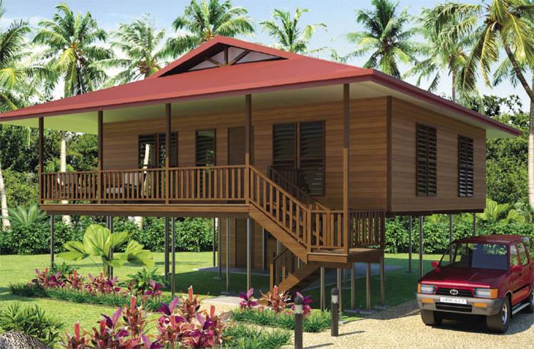 Thiết kế Bungalow tại các khu du lịch sinh thái núi rừng độc đáo - View 2