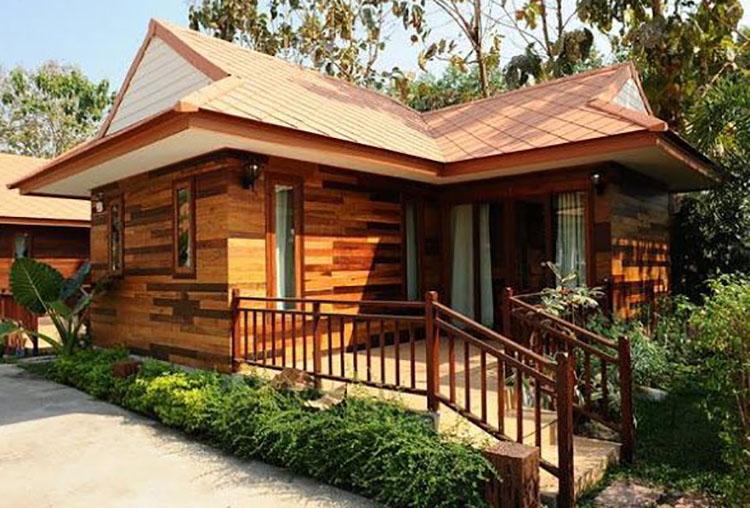 Thiết kế Bungalow tại các khu du lịch sinh thái núi rừng độc đáo - View 3