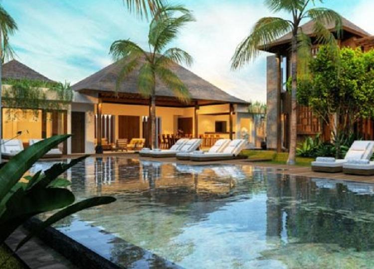 Thiết kế Resort không gian mở có hồ bơi đẹp mắt