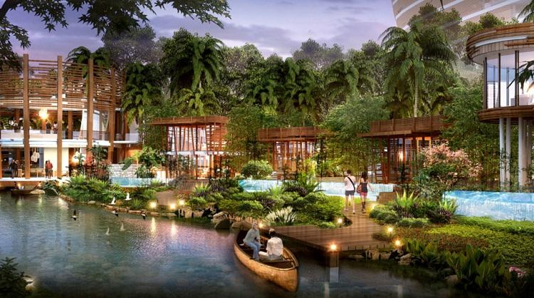 Lợi thế về không gian xanh tại các kiến trúc Resort
