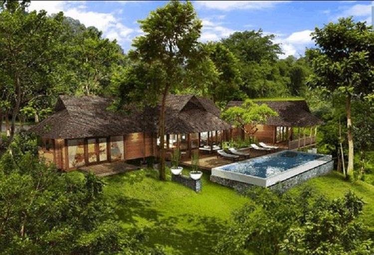 Thiết kế Resort với không gian mở ấn tượng hài hòa với thiên nhiên