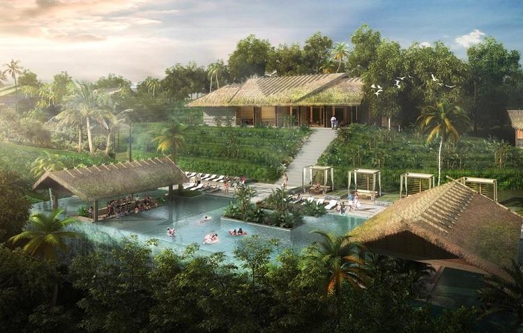 Thiết kế Resort với không gian mở sáng tạo và hài hòa với thiên nhiên