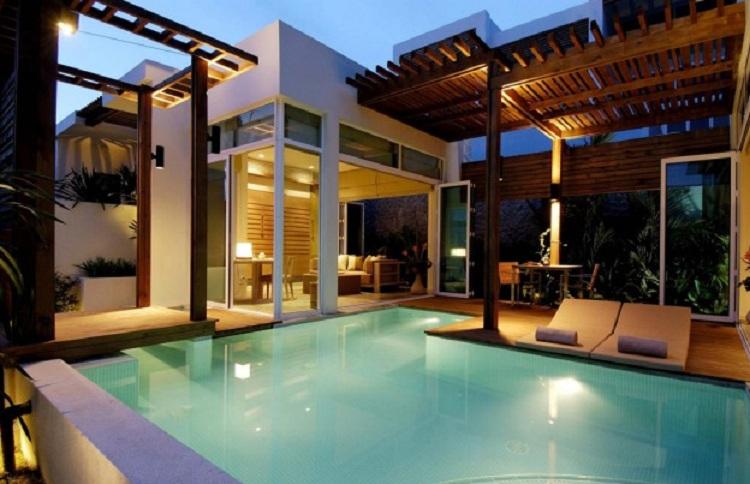 Tiện ích dịch vụ tại Resort Mini là cao cấp hơn các loại hình lưu trú thông thường