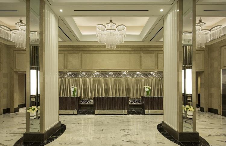 Bố trí ánh sáng tại sảnh khách sạn