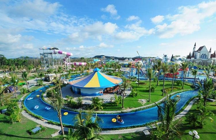 Tổ hợp dịch vụ vui chơi giải trí tại Resort