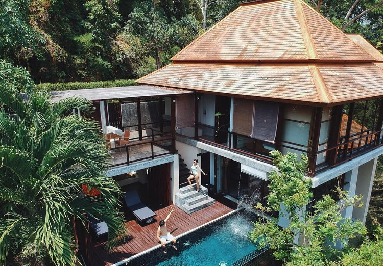 Thiết kế biệt thự tại Resort cao cấp