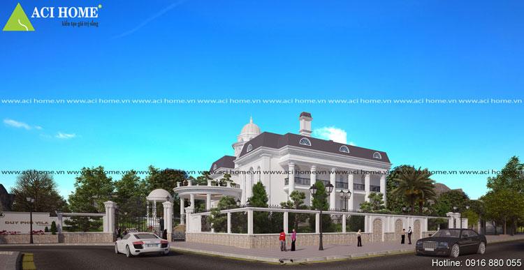 Thiết kế biệt thự vườn với tổng quan kiến trúc ấn tượng