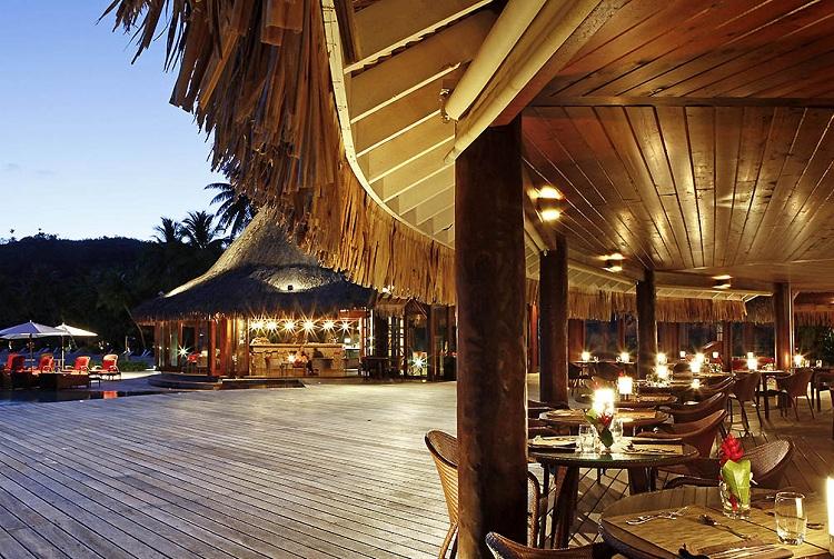 Thiết kế nhà hàng tại Resort