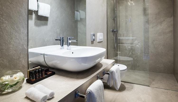 Thiết kế phòng tắm với không gian hợp lý