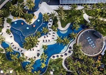 Cảnh quan cây xanh tại thiết kế Resort