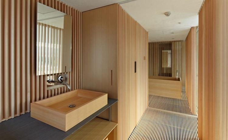 Thiết kế phòng tắm phong cách Nhật Bản
