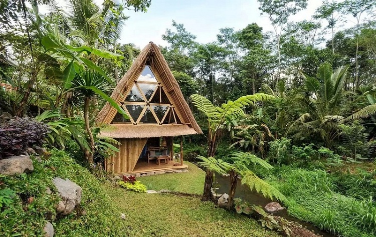 Bungalow tre lứa giữa khu Resort sinh thái hoang sơ
