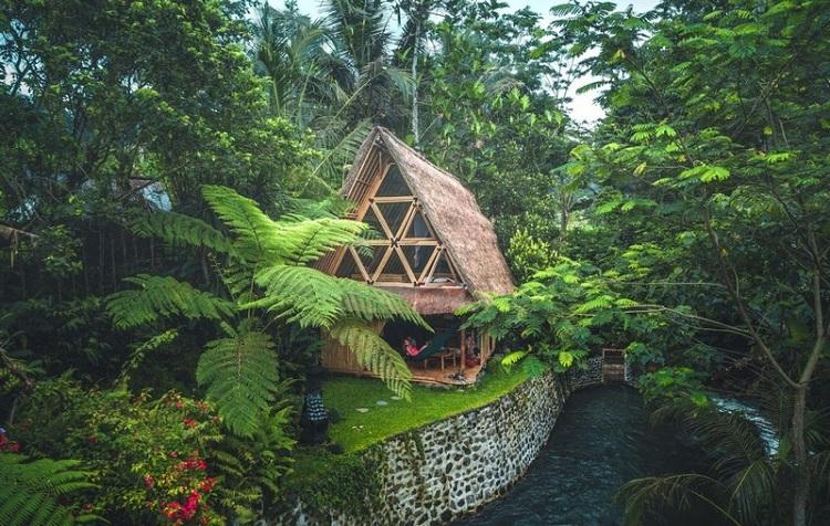 Thiết kế Resort với Bungalow bằng tre ấn tượng