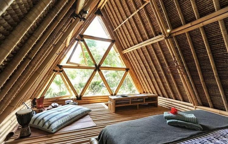 Bungalow tại Resort hoang sơ với kiến trúc tre lứa ấn tượng - tinh tế giản đơn