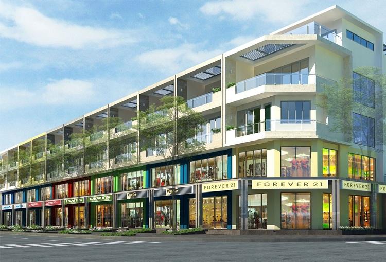 Shophouse - Xu hướng kiến trúc nhà thương mại